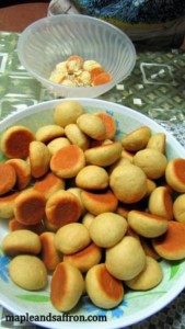 Abruzzo cookery tours pesche dolci recipe