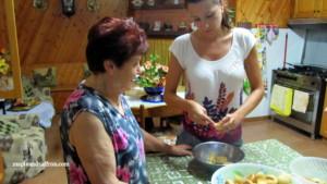 Tours Abruzzo sweet peaches recipe