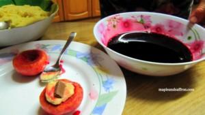 food tours Abruzzo sweet peaches recipe